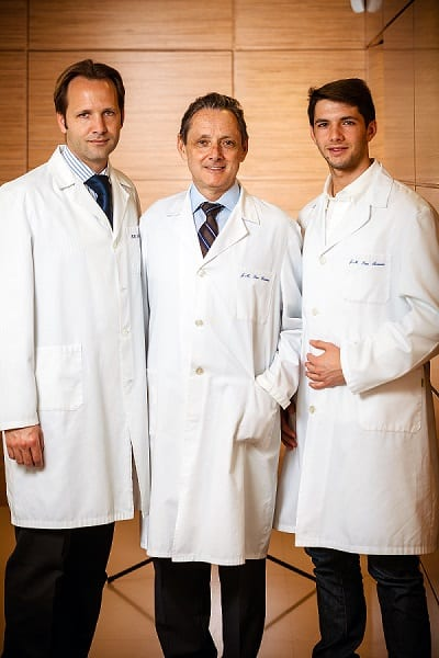 equipo medico clínica san román