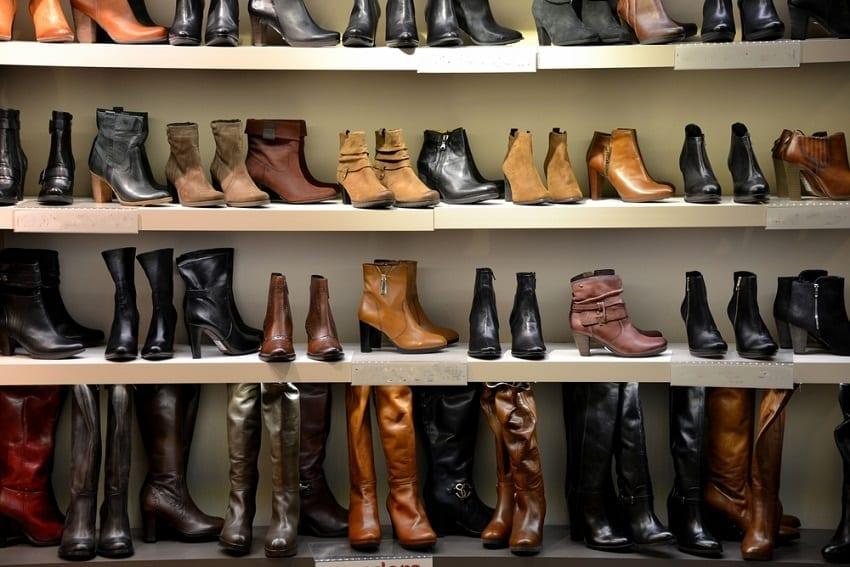 calzado adecuado para los pies
