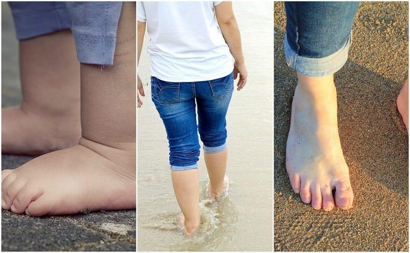 curiosidades sobre los pies