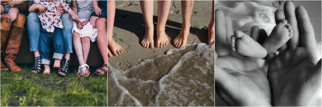 los pies y la herencia genética