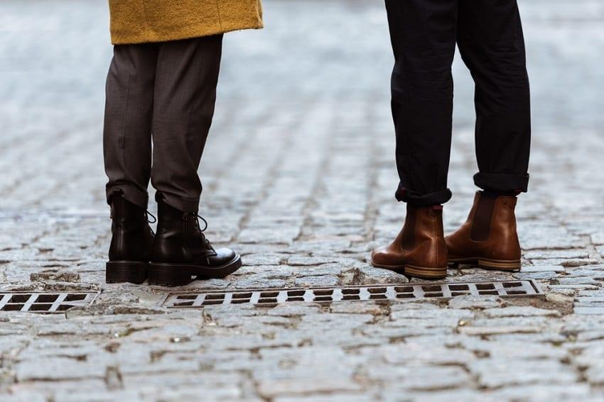 el cuidado de los pies en el calzado de otoño
