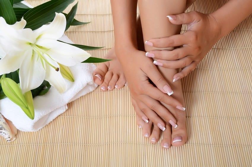 Las uñas de los pies y de las manos diferencias y semejanzas