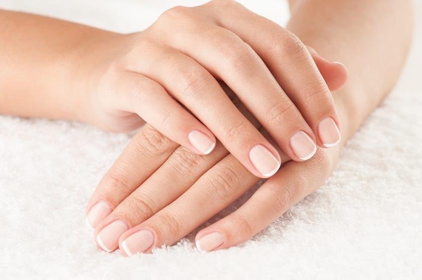 uñas de las manos