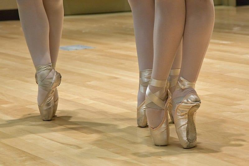 bailarinas calzado - calzado totalmente plano no es recomendable