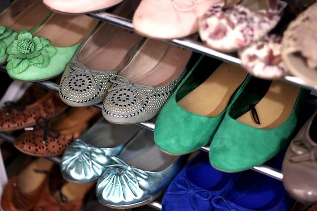 bailarinas calzado pie colección - calzado totalmente plano no es recomendable