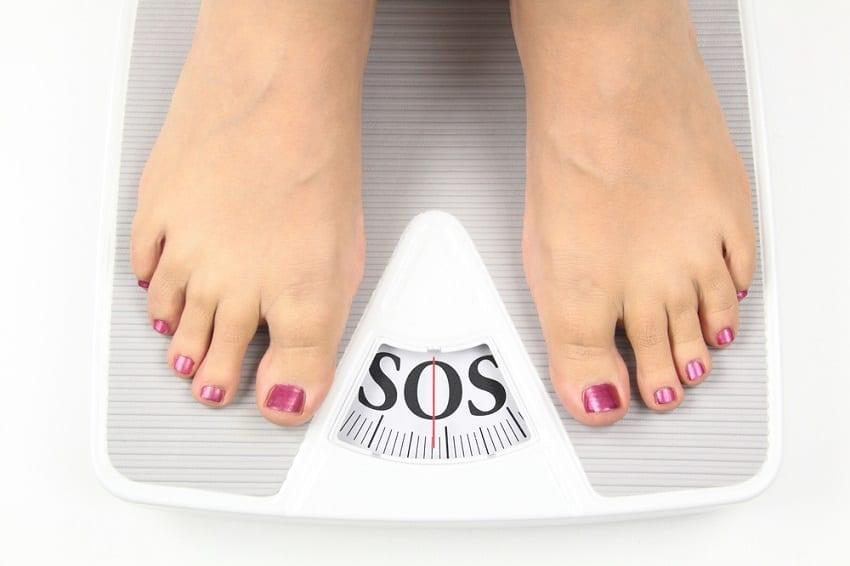 sobrepeso y sus efectos negativos en los pies