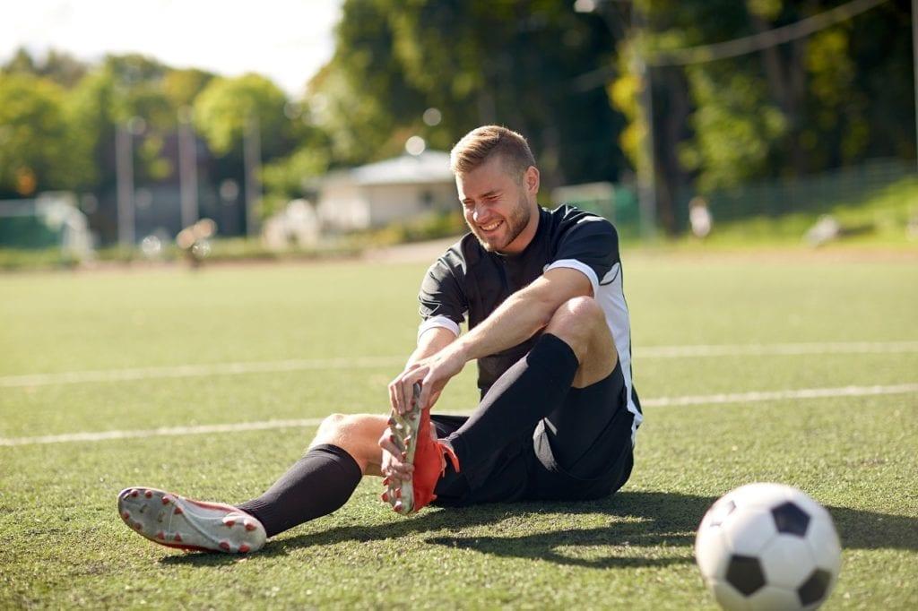 Lesiones en el fútbol : Fractura de Jones
