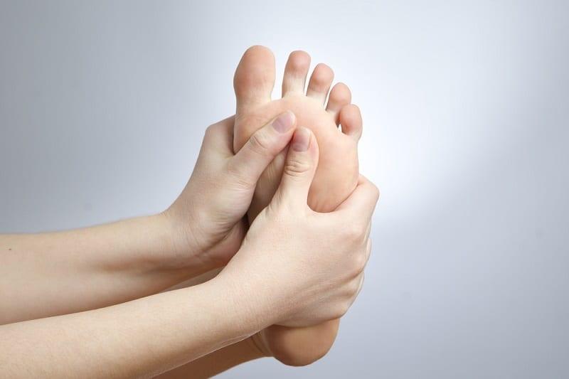 problema en los pies