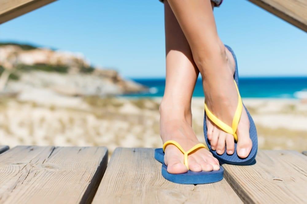 Los cuidados de los pies en verano