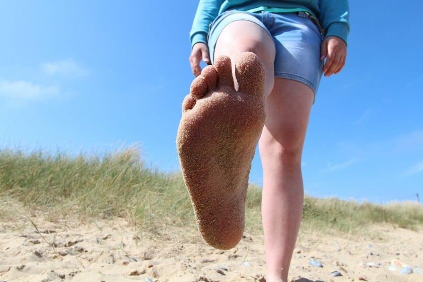 frequente voetproblemen in de zomermaanden