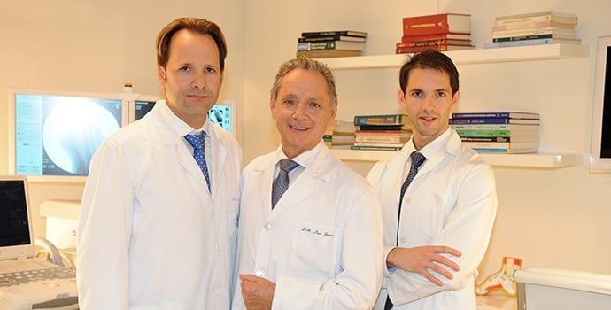 equipo médico clinica san roman