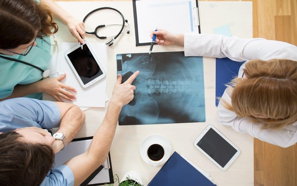 Radiografía de osteoporosis