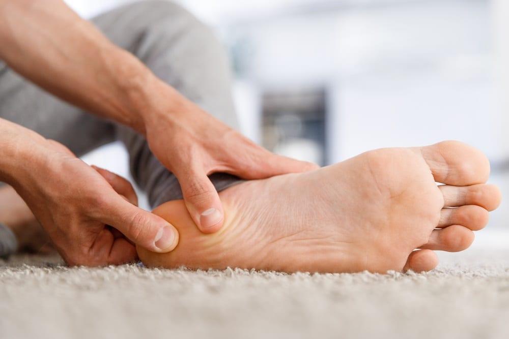 lesiones en los pies