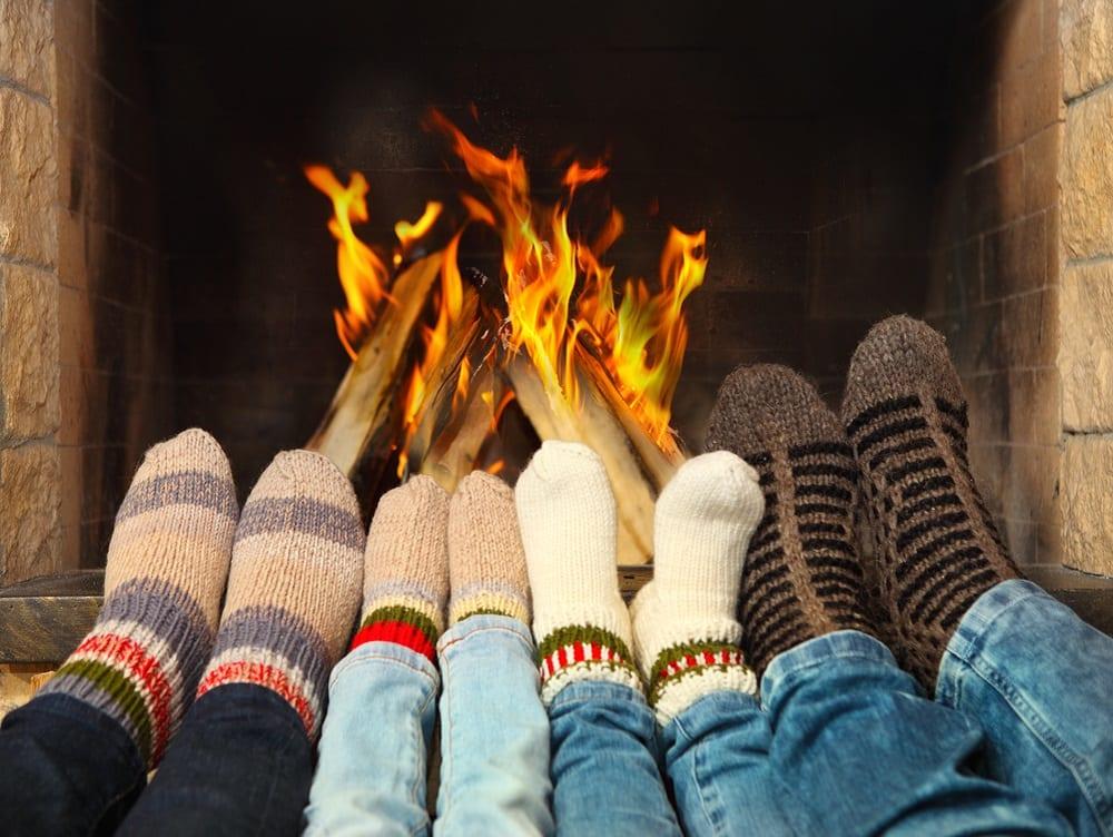 Temperatura corporal: Tus pies, protegidos ante el frío.