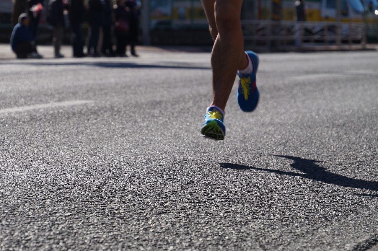 correr por la calle